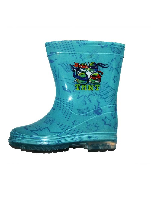 Cizme de ploaie Testoasele Ninja, bleu, 24, 26, 34