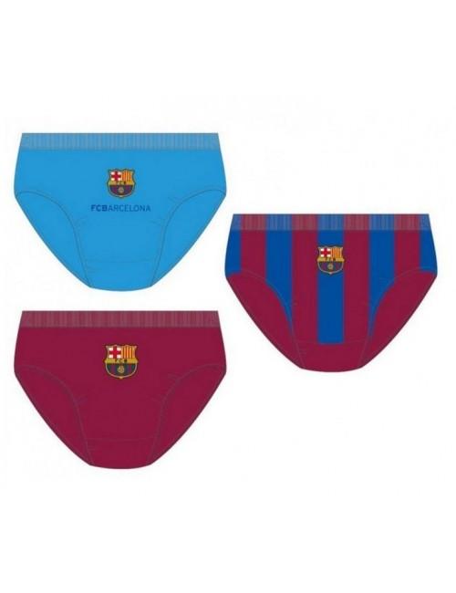 Set 3 x chiloti FC Barcelona 8 - 14 ani