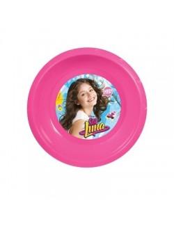 Castron plastic Soy Luna 17 cm