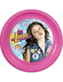 Farfurie plastic Soy Luna 21 cm