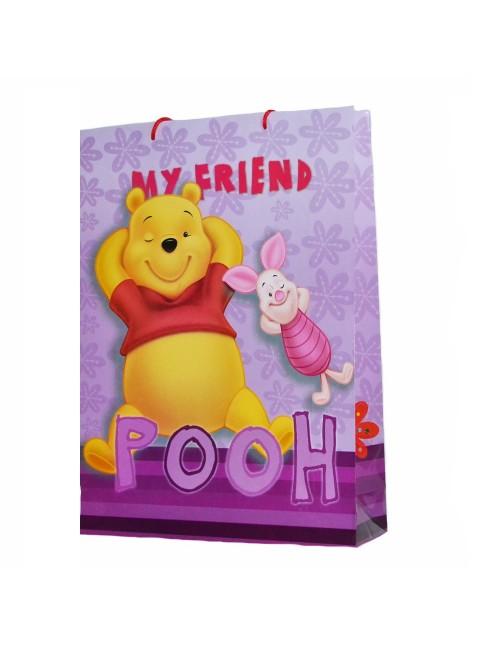 Punga cadou Winnie de Plus 45 x 33 cm - mov