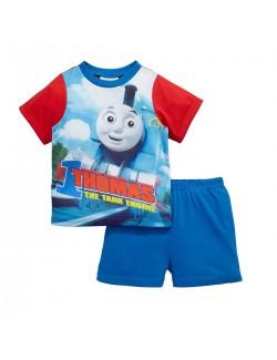 Pijama vara Locomotiva Thomas, copii 2 ani