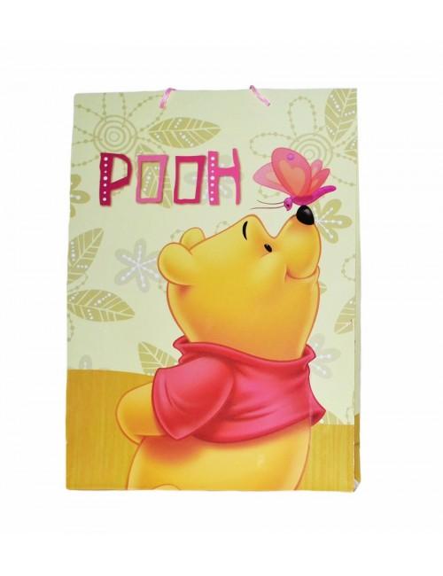 Punga cadou Winnie de Plus 45 x 33 cm - galbena