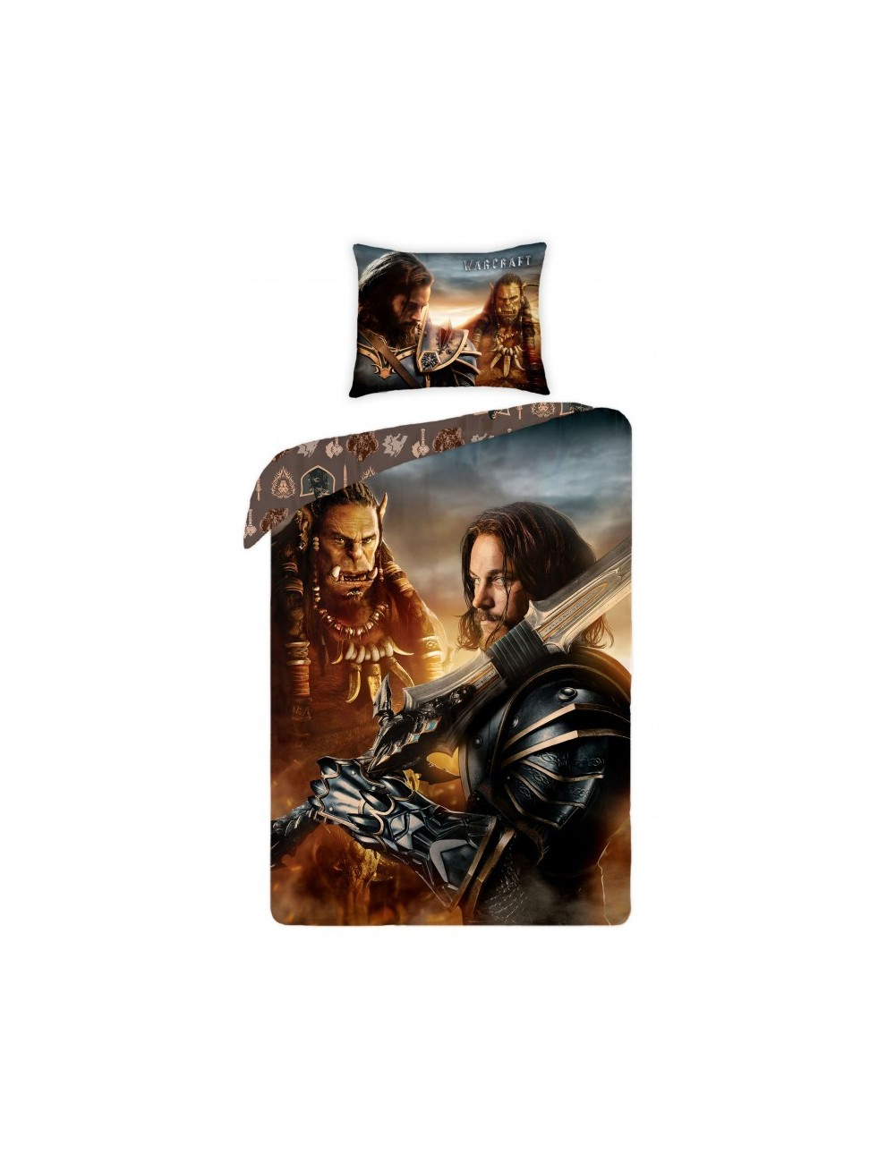 Lenjerie pat Warcraft 140 x 200 cm, bumbac