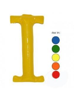 I - Litera gonflabila 35 cm culori diverse