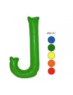 J - Litera gonflabila 35 cm - culori diverse