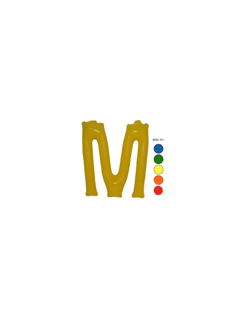 M - Litere gonflabile 35 cm