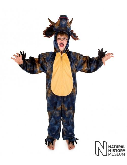Costum Dinozaur Triceratops copii 3 - 9 ani