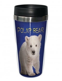 Pahar cu capac Polar baby Bear, 473 ml