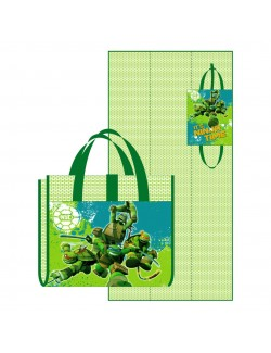Covoras plaja, Testoasele Ninja, verde, 75x150 cm