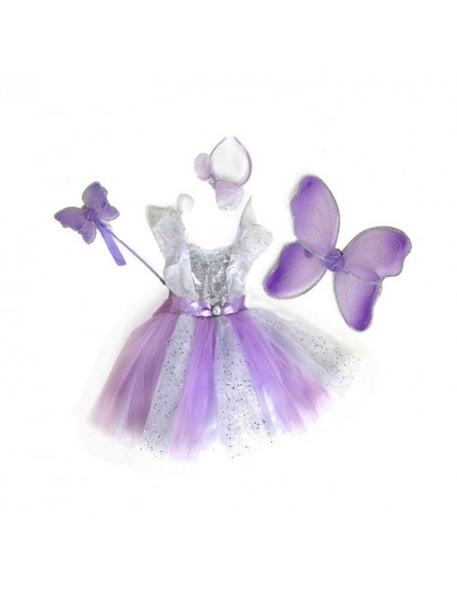 Rochie si bagheta zana Diamond Fairy 2 - 8 ani