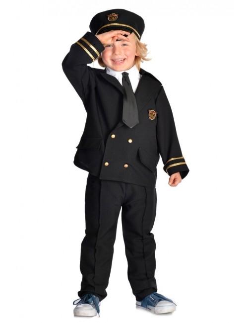 Costum Pilot copii 3 - 7 ani