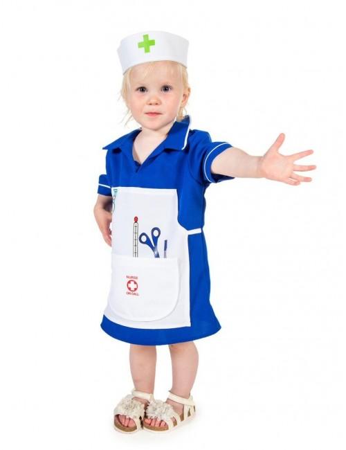 Costum Asistenta medicala copii  3 - 7 ani