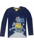 Bluza copii SpongeBob pe schiuri