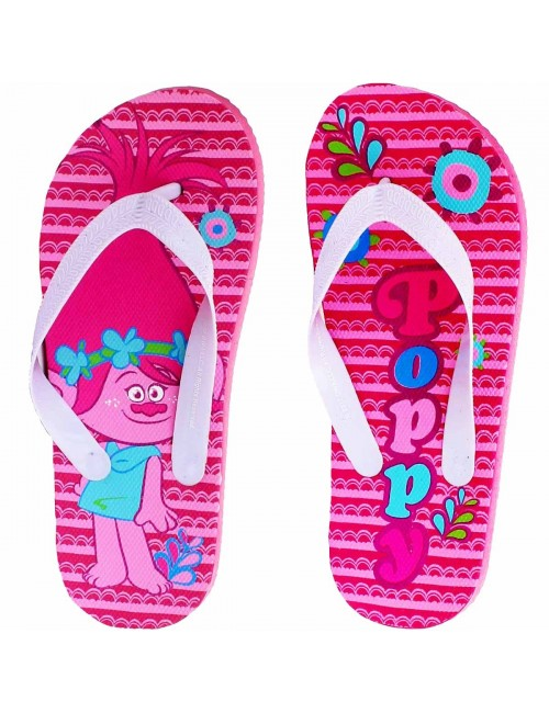 Papuci plaja fete Poppy Trolls  27-34
