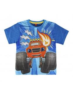 Tricou baieti Blaze si masinile uriase 2 - 6 ani, Cerda