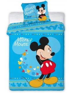 Lenjerie pat Mickey Mouse Disney 100 x 135 cm