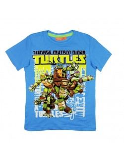 Tricou baieti Testoasele Ninja 4 - 9 ani albastru