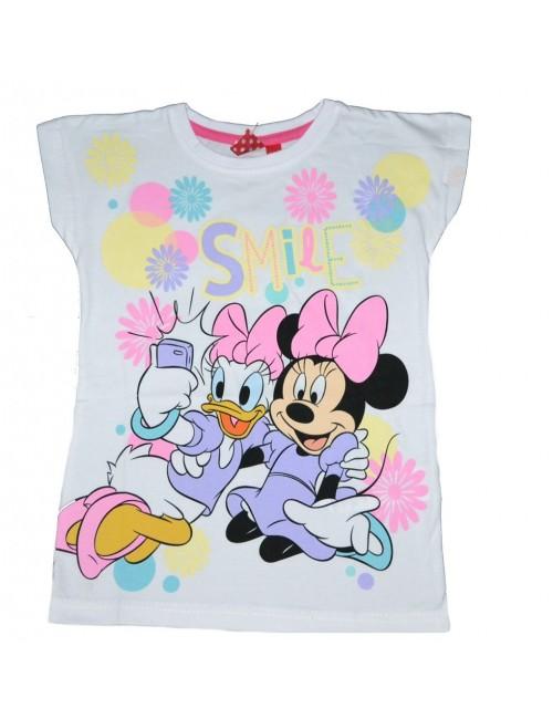 Tricou copii Minnie & Daisy Smile 3 - 8 ani